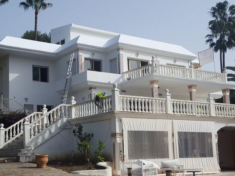 Reforma interior y exterior de chalet en Marbella